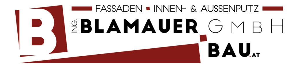 Logo: Ing. Blamauer Bau GmbH - Fassaden, Innenputz, Aussenputz